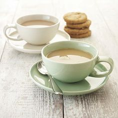 delicious. Ivory Coffee Cup with Saucer - From Lakeland