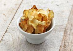 Chips saudável de batata inglesa para fazer no forno