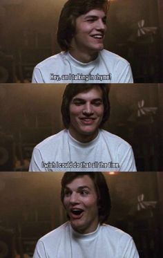 """Ohh, Kelso!    """"Hey, am I talking in rhyme?  I wish I could do that all the time. :O""""  thatfunnyblog:    http://thatfunnyblog.tumblr.com/"""
