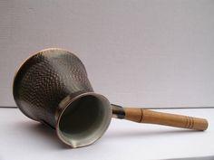 8 Cups copper ARMENIAN turkish COFFEE pot maker CEZVE ibrik