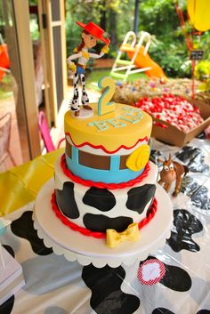 toy story cake.