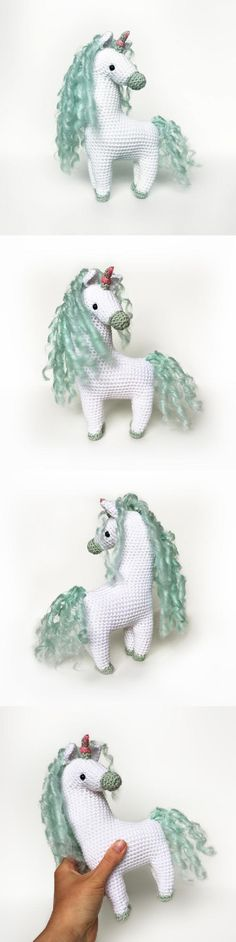 Clara The Unicorn amigurumi pattern