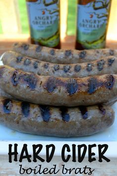Boil your brats in Hard Cider instead of beer.  Yum!