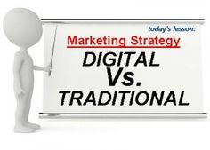 Traditional media and digital media both are important according to business scenario.