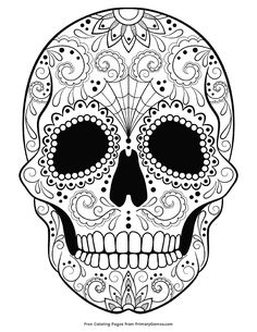 Skull Mandala Coloring Pages. 30 Skull Mandala Coloring Pages. Pages Coloring Day the Coloring Pages for Kids Free Halloween Coloring Pages, Witch Coloring Pages, Pumpkin Coloring Pages, Skull Coloring Pages, Monster Coloring Pages, Adult Coloring Book Pages, Printable Adult Coloring Pages, Disney Coloring Pages, Mandala Coloring Pages