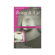 773bc9e869d Amazon.com  Bring It Up Instant Breast Lift - Plus Size - 3 Pairs  Beauty