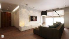 Mieszkanie w Lubinie - Średni salon, styl minimalistyczny - zdjęcie od Finchstudio Architektura Wnętrz