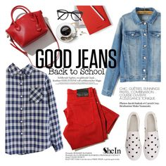 """""""Good jeans"""" by punnky ❤ liked on Polyvore featuring mode, JOTT et Selima Optique"""