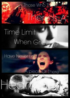"""""""Those Who Think There Is A Limit When Grieving... Have Never Lost A Piece Of There Heart..."""" Marvel xBlueAvenue"""