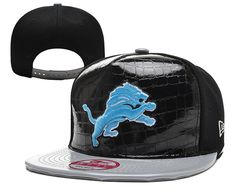 4041812eb67 Detroit Lions X New Era 9 Fifty Custom Croc Print Snapback PU Leathered  Visor Snapback Cap