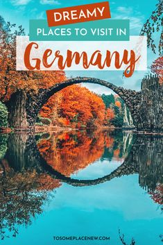 Germany Travel Beautiful Places to Visit - - Get the expert guide into the most beautiful cities in Germany. Use this list of best places to go in Germany to kickstart your travel bucket list! Beautiful Places To Travel, Most Beautiful Cities, Cool Places To Visit, Cities In Germany, Germany Travel, Visit Germany, Berlin Germany, Bavaria Germany, Europe Travel Guide