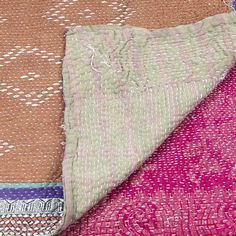 Kantha Quilt Love + Running Stitch Tutorial