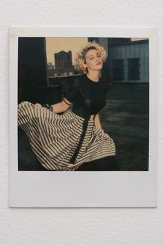 Lost Polaroids of Madonna Before She Was Madonna Resurface in New Book