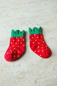 hansel from basel strawberry socks. Kids Socks ac609e35d