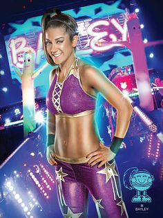 Pamela Rose Martinez is an American professional wrestler currently signed to WWE under the ring name Bayley, where she is a former NXT Women's Champion, performing on the Raw brand.