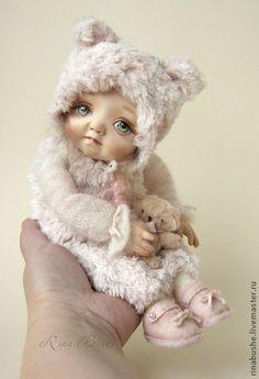 Коллекционные куклы ручной работы. Ярмарка Мастеров - ручная работа Муся. Handmade.