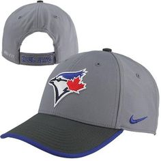 cc3817f8c50 Nike Toronto Blue Jays Dri-FIT L91 Featherlight Performance Hat -  Charcoal Anthracite  23.95