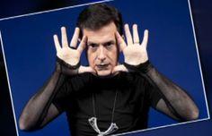 why hello, goth Stephen Colbert...