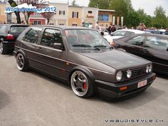 Mk2 Golf on Porsche Twists!
