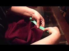✂ Como colocarle el forro a una campera ♥ - YouTube