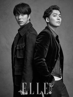 Jung Kyung Ho, Kim So Yeon and Yoon Hyun Min - Elle Magazine April Issue '15