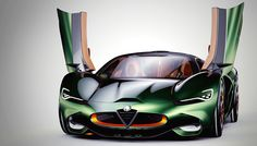 The Alfa Romeo Furia Supercar Concept Pays Homage to History | Automobiles