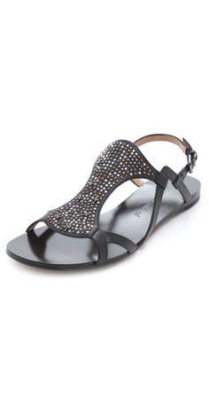 Modern Vintage Shoes Anita Studded Sandals | SHOPBOP