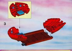 Thousands of complete step-by-step printable older LEGO® instructions for free. Here you can find step by step instructions for most LEGO® sets. Black Mode, Lego Pirate Ship, Lego Group, Lego Instructions, Lego Sets, Legos, Pirates, Lego Games, Lego