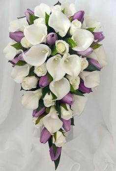 Resultado de imagen para bouquet para novias de alcatraces