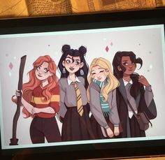 Harry Potter Girl, Theme Harry Potter, Mundo Harry Potter, Harry Potter Artwork, Harry Potter Drawings, Harry Potter Outfits, Harry Potter Pictures, Harry Potter Aesthetic, Harry Potter Wallpaper