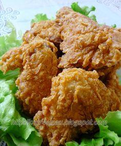 Recipe for Super Crispy Fried Chicken