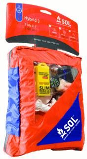 Shop for Survive Outdoors Longer Hybrid 3 Survival Kit. Get free delivery On EVERYTHING* Overstock - Your Online Survival & First Aid Kits Store! Doomsday Prepping, Survival Prepping, Emergency Preparedness, Survival Gear, Survival Skills, Emergency Kits, Camping Survival, Camouflage, Zombie Gear