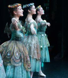 The Australian Ballet's Benedicte Bemet, Rina Nemoto, Jade Wood. Photography Kate Longley