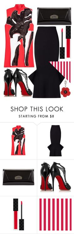 """""""The end"""" by sunnydays4everkh ❤ liked on Polyvore featuring Marni, Roland Mouret, Christian Louboutin and Gucci"""
