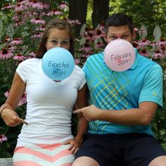Clever baby announcement for a friend who is expecting and needed some clever ways to announce their last baby!!
