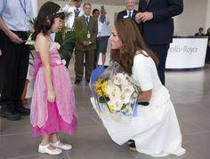 Kate Middleton Photos - Will and Kate Visit Rolls-Royce - Zimbio