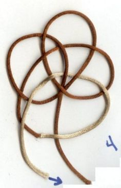 Button Knot using one cord