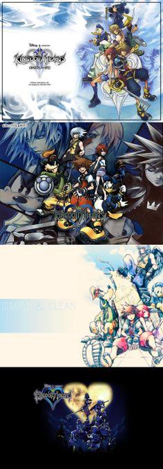 Kingdom Hearts Original wallpaper
