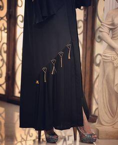 Abaya-Inspiration – Muhammad Amyn Ranawaya – Join the world of pin Dubai Fashion, Abaya Fashion, Fashion 2020, Modest Fashion, Fashion Outfits, Fashion Shoot, Abaya Designs Dubai, Wedding Abaya, Hijab Collection