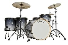 """Are you looking for a new drum set? You can find a selection of MAPEX DRUMS including this MAPEX MERIDIAN MAPLE """"BIG ROCK 22"""" 5-PIECE DRUM SET/SHELL PACK MP528SJBGA IN GALAXY SPARKLE FADE (free shipping) at http://jsmartmusic.com"""