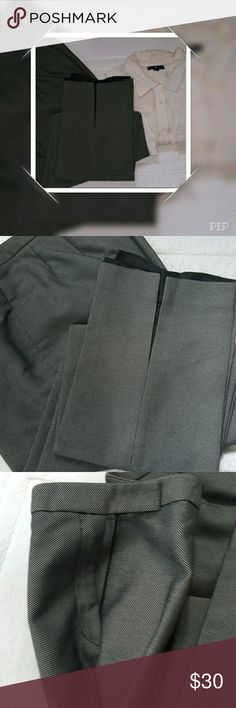NWOT Liz Claiborne dress pants. Great pants for the office. There are slots on the bottom of legs to add just a hint of sexiness. Liz Claiborne Pants Ankle & Cropped