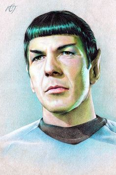 Star Trek 1, Star Trek Spock, Star Trek Original Series, Star Trek Series, Leonard Nimoy, Eminem, Nave Enterprise, Science Fiction, Paddy Kelly