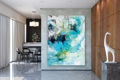 Large Modern Wall Art Painting,Large Abstract wall art,painting original,colorful abstract,gallery wall art,acrylic textured FY0008