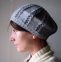 Ravelry: Beret for not-so-windy winter days. pattern by Mary G
