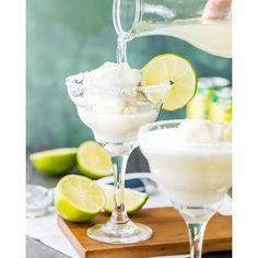 Lemon & Lime Margarita Ice Cream Floats