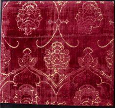 15th century Italian silk velvet