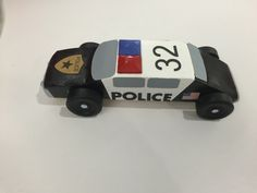 Pinewood Derby 2016 - honoring all the fallen police officers