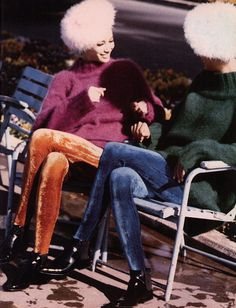 "80s-90s-supermodels:    ""The Sisters"", Vogue Italia, July 1990Photographer: Ellen von UnwerthModels: Christy Turlington & Linda Evangelista  ( Source: The Fashion Spot )"