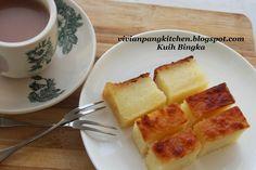 Vivian Pang Kitchen: Baked Cassava /Kuih Bingka (烤木薯糕 )