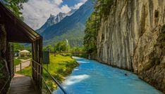 Die Leutaschklamm ist das Highlight der Alpenwelt Karwendel und ideal für Familien: http://schöne-aussicht.de/leutaschklamm/